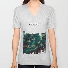 Fargo Skyline Unisex V-Neck