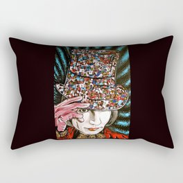 Johnny Depp as Willy Wonka Rectangular Pillow