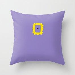 Friends Peephole Frame Throw Pillow