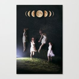 Divinity: Descensum  Canvas Print