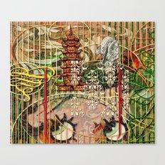 The Interlocking Mechanism of Compartmentalization (1) Canvas Print