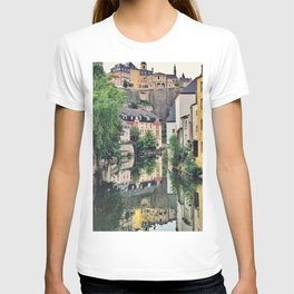 Luxembourg City, The Grund T-shirt
