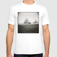 { skeleton trees } MEDIUM Mens Fitted Tee White