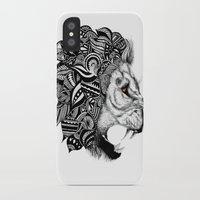 leon iPhone & iPod Cases featuring Leon by Artful Schemes