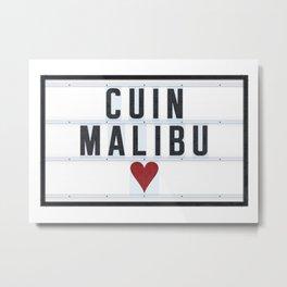 CUIN Malibu Metal Print