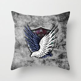 Wings of Freedom Throw Pillow