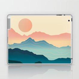 Wanderlust Gradient Mountain Laptop & iPad Skin