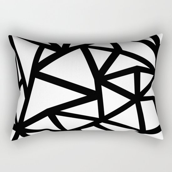 Ab Out Thicker B Rectangular Pillow