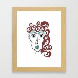 Britt Framed Art Print