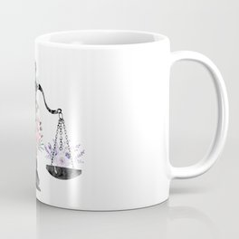 Scales of Justice Art Coffee Mug