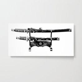 katana Metal Print