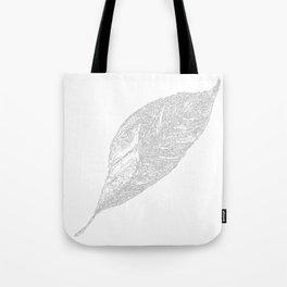 Leaf Monochrome Art Print-06 Tote Bag