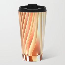 Bending the Bars of Rules - Pure Fractal Abstract Travel Mug