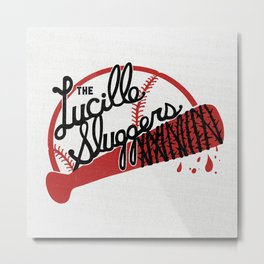THE LUCILLE SLUGGERS Metal Print