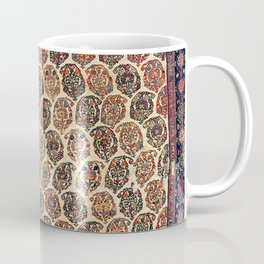 Kashkuli  Antique Fars Persian Tribal Rug Coffee Mug