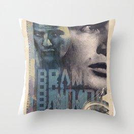 MARLON BRANDO COLLAGE Throw Pillow