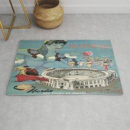 Vintage poster - Madrid Rug