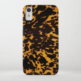Art Deco polished Tortoise Shell iPhone Case