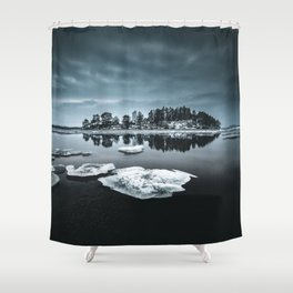 Only pieces left Shower Curtain