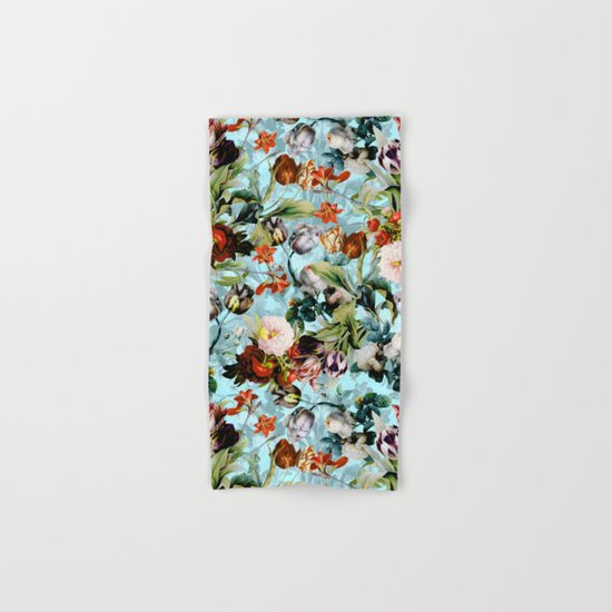 SUMMER BOTANICAL VI Hand & Bath Towel