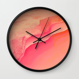Pink Navel Wall Clock