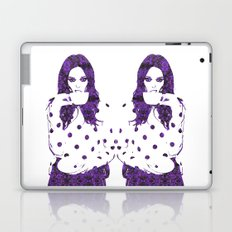Tea Cup: Coco Rocha Laptop & iPad Skin