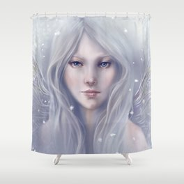 Snow Sprite Shower Curtain
