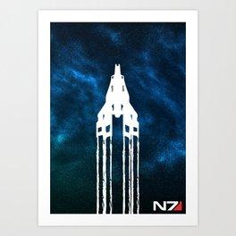 Normandy SR1 Art Print