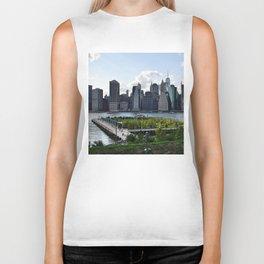 Downtown Manhattan Skyline Biker Tank