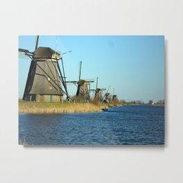 Moulin - Windmills Metal Print