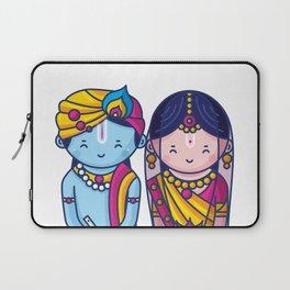 Cute Radha Krishna Laptop Sleeve