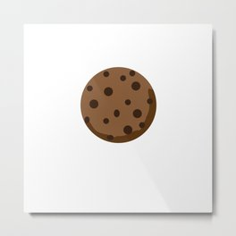 Chocolate Chocolate Chip Metal Print