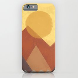 Abstract Warm Morning  iPhone Case