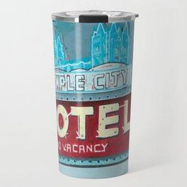 Temple City Motel Travel Mug