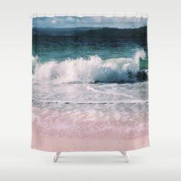 Crash into me (Samana Island Dominican Republic) Shower Curtain