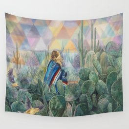Cactus Land Wall Tapestry