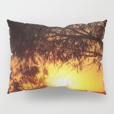 Sunset Silhouettes | Beautiful Nature Pillow Sham