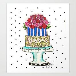 Cake! Art Print