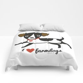 I love farmdogs Comforters
