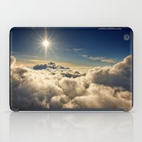 clouds iPad Cases featuring clouds by 2sweet4words Designs