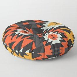 Aztec geometry Floor Pillow