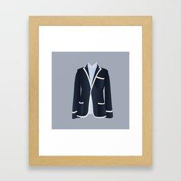 Best Dressed - Blazer Framed Art Print