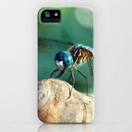 Dragonfly Resting iPhone Case