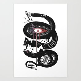 Intervolve Art Print