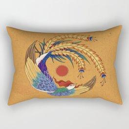 Minhwa: Asian Phoenix E Type Rectangular Pillow