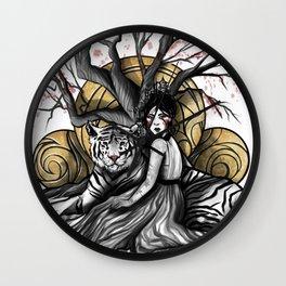 Godess of Creation Wall Clock