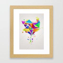 Origami Framed Art Print