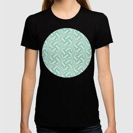 Celtic Knot Pattern in Green T-shirt
