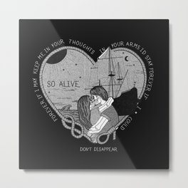 """So alive"" by Ryan Adams Metal Print"