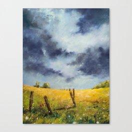 A Stormy Sky Canvas Print